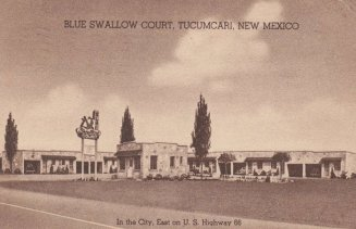 The Blue Swallow Motel – When it Was New